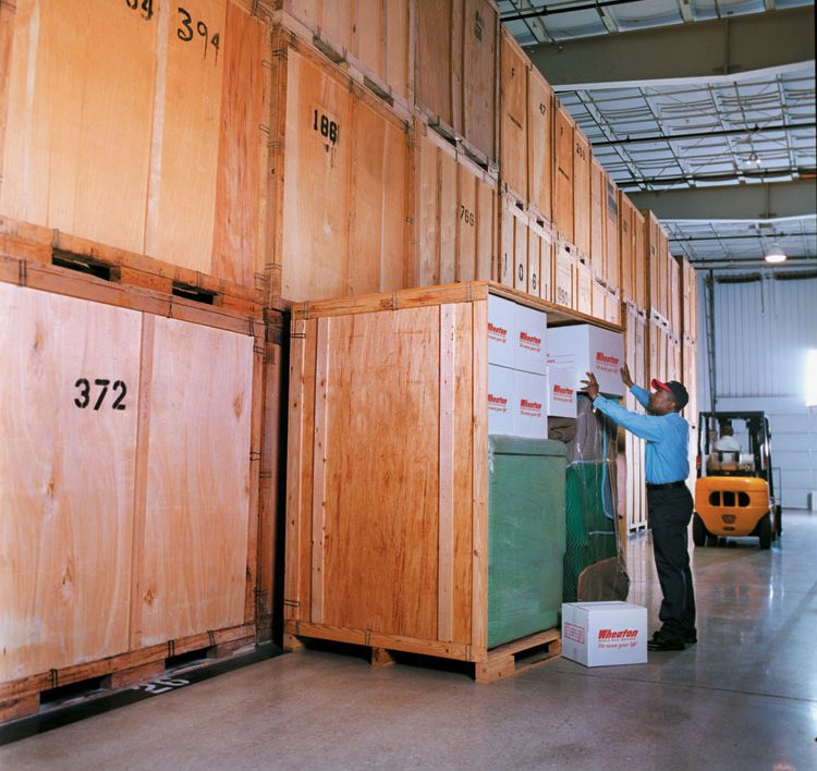 Hazzard Moving Storage Installation Record Storage in St Louis Residential Storage