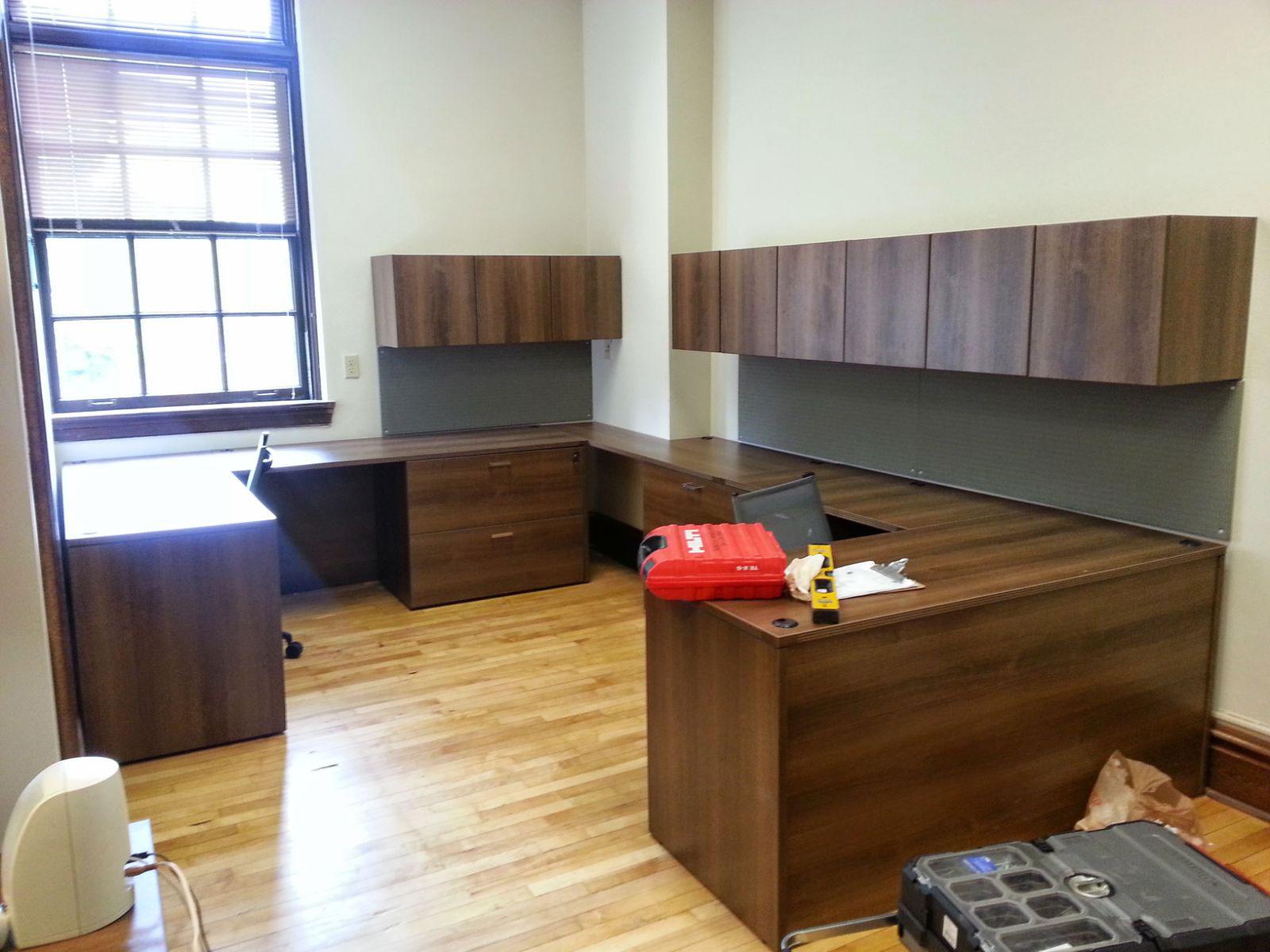 Hazzaed Moving Storage Installation Record Storage in St Louis Office Installation