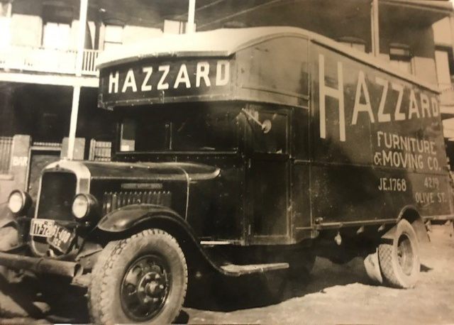 Hazzard Moving and Storage 1929 Pic